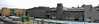 Mini carbuncle (beqi) Tags: panorama architecture concrete stirling stonework brutalism photoshoppery 2014