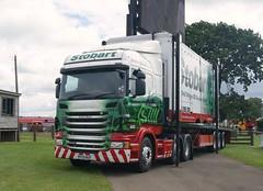 "Stobart Group Scania R440 H6744 PF13HUY ""Ainslie Megan"" Truckfest Scotland 2013. (Malcie Man) Tags: scotland group eddie truckfest stobart"