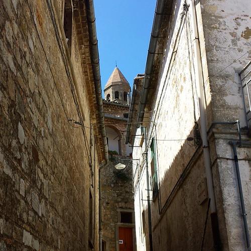 Girovagando per le viuzze di #Bovino (FG) - Borgo antichissimo sui Monti Dauni