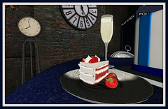 Aphrodite Shop | Slice of cake (Hidden Gems in Second Life) Tags: wedding victorian free secondlife doctorwho scifi hunt trompeloeil steampunk weddingcakes freebies finishingtouches bluepolicebox applefall aphroditeshop gloriasilverstone hiddengemsinsecondlif