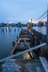 Long Beach Island - NJ (JamesGriffin,) Tags: new york blue sunset lake beach water beautiful river boats island boat dock nikon long lbi jersey inlet d3100