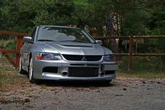 Mitsubishi Lancer Evolution IX (AcheerrePhoto) Tags: nature car japan fog grey rally evolution racing lancer mitsubishi evo carporn evo9 lancerevo lanevo evoix mitsubishilancerevo9