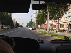Streets of Pyongyang (Clay Gilliland) Tags: travel holiday hotel scenery asia tour north korea falls northkorea dprk northkoreatour youngpioneertours dprktour