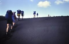 Miles of ash & not a tree in sight (petefreeman75) Tags: film ice water beautiful walking lava iceland moss hiking slide ash bleak 1992 stark walkingtour dickphillips ricohkr10x