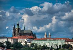Prague Castle with St Vitus Cathedral (W.M.foto) Tags: prague prag praha tschechien czechrepublic stvituscathedral nikond800 nikkor70200f28vrii