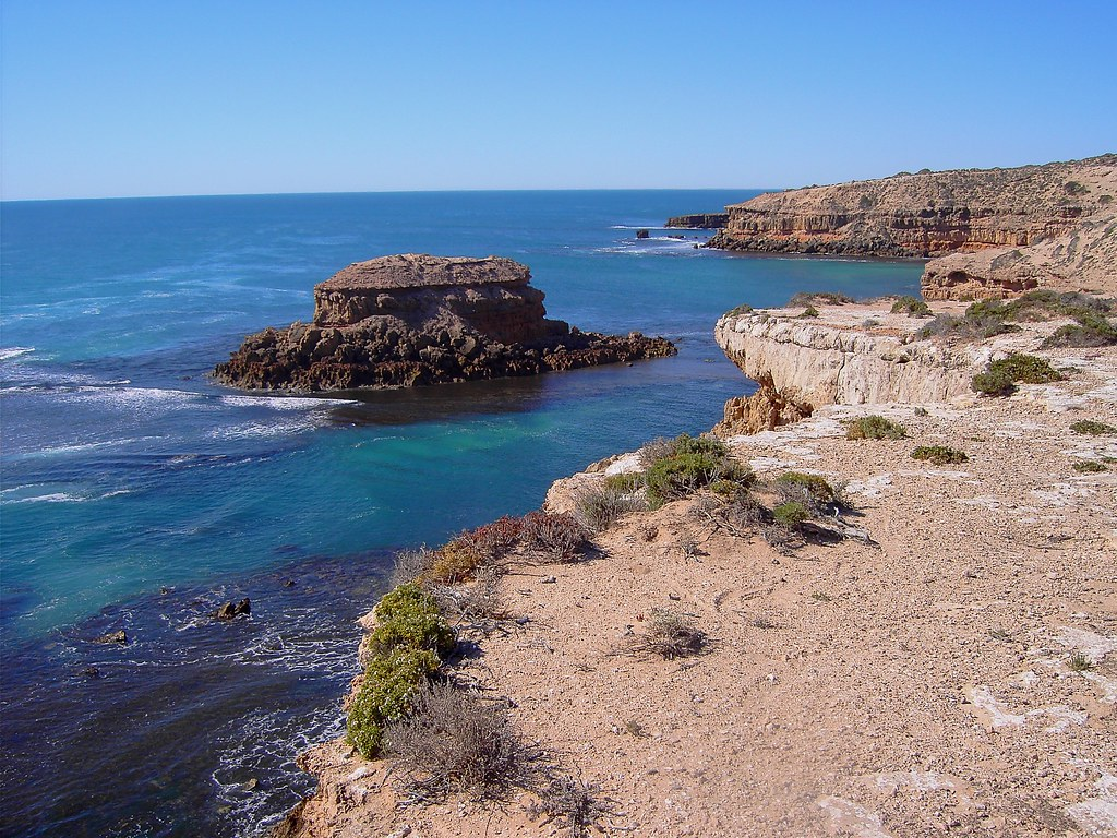 Streaky Bay. Wild coastline near Streaky Bay.