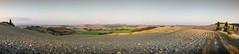 [20] Toscane, Exportation sans titre, 7 images, IMGP5032 - IMGP5038 - 13362x3008 - SCUL-Smartblend (fLobOOk) Tags: panorama italia pano tuscany crete siena prairie paysage toscane italie sienne argile pr cyprs senesi