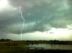 Risky shot (kevin.crawford31) Tags: nature fishing florida wildlife lakes lightning leecounty lehighacres
