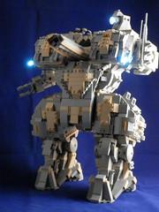 Harbinger-001 (Canis Arms Corporation) Tags: robot lego battetech mecha mech moc battlemech