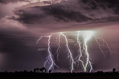 Lightning (Marvin Bredel) Tags: storm oklahoma night clouds thunderstorm lightning kingfishercounty marvinbredel