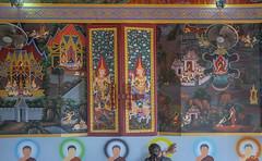 Wat Khao Rang Ubosot Interior Paintings and Window Shutters (DTHP0559) วัดเขารัง ภาพวาดตกแต่งภายใน และ บานหน้าต่าง อุโบสถ