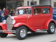 Hot Rods on Parade