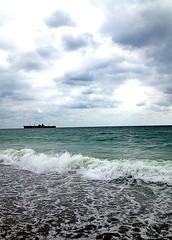 Wild Wild Sea (Denisa*) Tags: sea summer roadtrip romania costinesti epava