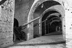 cannon chamber  (cyberjani) Tags: gun cannon albania fortress balkan gjirokaster