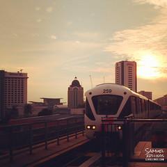 Wat Chetawan -8 (sjrollings) Tags: city sunset malaysia kualalumpur monorail kl monorel