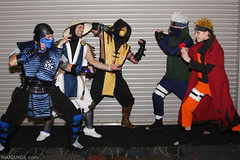 Mortal Kombat vs. Naruto (thatguygil) Tags: utah saltlakecity saltlake slc naruto comiccon mortalkombat saltlakecomiccon slcomiccon radio616