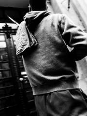 RAG (Galantucci Alessandro) Tags: street city portrait people blackandwhite bw white black monochrome contrast photography monocromo town eyecontact europe strada hungary gente candid budapest streetphotography documentary east persone grainy fotografia bianco ritratto nero biancoenero citt contrasto fotografiadistrada documentaristica