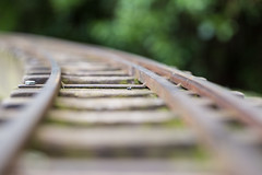 17.6.15 - Round the Bend (Pittypomm) Tags: train miniature tracks mini