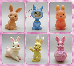 Wascally Wabbits (The Moog Image Dump) Tags: wascally wabbits rabbit bunny ears toy figure vintage old pink fluffy kawaii cute squeaker soft vinyl 可愛い