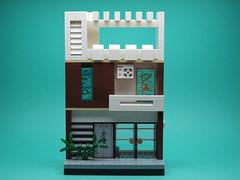 Brown house (Sonofbricks) Tags: lego house brown vietnam kien truc