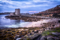 Cromwell Castle Tresco Scilly Isles (paulbnashphotography.com - Sharpe Shooter) Tags: tresco scilly isles island cornwall kernow castle architecture sunset seaweed beach rocks islands stunning awesome beautiful