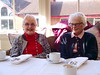 Afternoon tea (Snapshooter46) Tags: elderlyladies afternoontea sitting teacups people relaxing sugarbowl