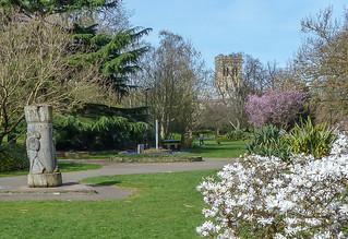 Chapelfield, same view today