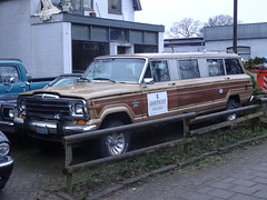 Jeep Wagoneer Limousine (harry_nl) Tags: netherlands nederland 2017 soesterberg jeep wagoneer limousine jagpoint wcar