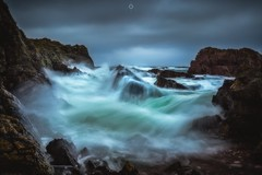 Game Over Man! (Augmented Reality Images (Getty Contributor)) Tags: canon cliffs clouds coastline colours landscape leefilters littlestopper longexposure morayfirth portknockie rocks scotland water waves