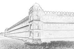 India - Delhi - Red Fort - 204c (asienman) Tags: india delhi redfort asienmanphotography mugalemperor asienmanphotoart unescoworldheritagesite