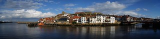 Whitby on the river Esk