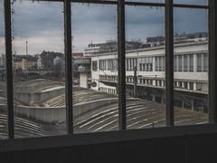 Soiled window (fincithreee) Tags: window pane soiled view train station panasonic g7