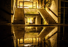 Lost Places reflection (Siebeats) Tags: lost places lights light reflection day photographer photography nikon nikond5300 water treppe spiegelung germany deutschland stairway