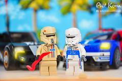 """So you're saying you wanna race me?"" (Phil Korn) Tags: lego lego365 starwars legostarwars legography afol minifigues minifigs scarif rogueone shoretrooper hovertank pilot race ford disney force background palms photography photoshop philkorn21 nikon explore landschaft toys sky light sand cars lucasfilm fordgt40 speedchampions maldives flickr racing 75881 car sport vintage rebels"