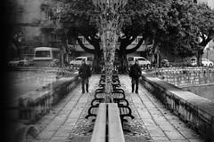 DSCF2899 (luis_sou) Tags: macau macaustreet bnw blackandwhite pretoebranco xpro2 fujixpro2 fujifilm fujifilmxpro2 fuji reflection
