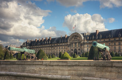 L'hôtel national des Invalides (Dmitry Yelloff) Tags: france paris old museum travel city tourism history historic war military ancient army cannon architecture antique culture europe tourist famous historical monument hospital palace weapon gun artillery napoleon vintage outdoors building battle past metal aged landmark row lawn european musee larmee day sky green clouds lhotel national invalides museedesplansreliefs museedelordredelaliberation museedhistoirecontemporaine museedelarmee armymuseum