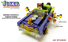 LEGO Batman Custom MOC | The Joker Lowrider Pimpmobile (AC Studio) Tags: lego batman custom moc the joker lowrider pimpmobile building toys toy dc comics movie 70906 notorious low rider set