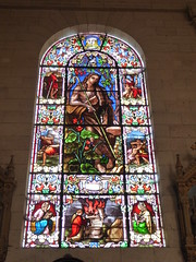 Abel (Granpic) Tags: france lotetgaronne nouvelleaquitaine nérac church eglise stnicholasnérac window stainedglass 19thcenturyglass vitrail vidreriadecolores josephvilliet abel oldtestament