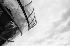Foundation Louis Vuitton. (Aurelia Li) Tags: blackwhite louisvuitton museum paris france architecture reflection