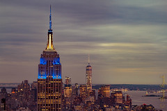 NYC View (MoArt Photography) Tags: newyork empirestatebuilding oneworldtower manhattan cityscape berndspeck moartphotography