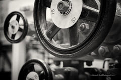 Valves (rhfo2o - rick hathaway photography) Tags: rhfo2o canon canoneos7d brooklands brooklandsmuseum weybridge surrey bw blackandwhite mono stratospherechamber barneswallis