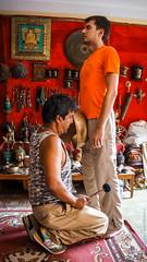 Терапия поющей чашей в Катманду