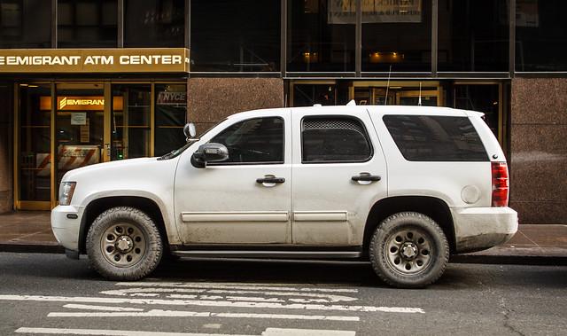 nyc white newyork chevrolet car truck gm tahoe police chevy mta package patrol k9 ppv