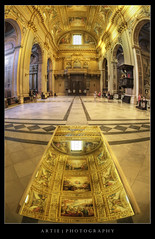 Sant'Andrea Della Valle, Rome, Italy :: HDR (:: Artie | Photography ::) Tags: italy rome roma reflection church photoshop canon painting mirror interior basilica fisheye 15mm f28 ef hdr artie santeustachio cs3 apse 1650 3xp corsorinascimento photomatix corsovittorioemanuele santandreadellavalle tonemapping tonemap alessandroalgardi 5dmarkii piazzavidoni 5dm2 vaultoverthenave