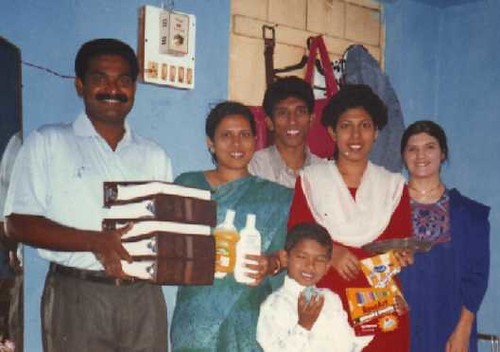 Kolhapur family receives books