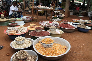 At the market in Bossangoa