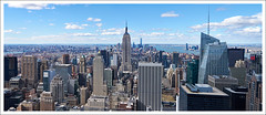 Empire State Building - Manhattan (afer92) Tags: panorama newyork skyscraper us manhattan esb hudsonriver empirestatebuilding artdeco artdco 0325 bankofamericatower lincoln