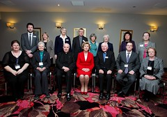 "Staff of ICPO and President McAleese • <a style=""font-size:0.8em;"" href=""http://www.flickr.com/photos/125110290@N05/14385655287/"" target=""_blank"">View on Flickr</a>"