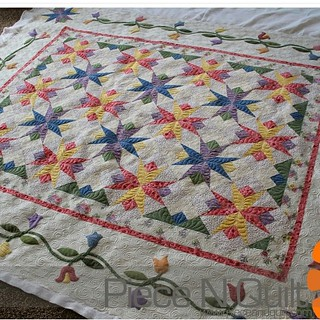 Did you all see Melissa's awesome quilt on the blog today? Hop over there to see the
