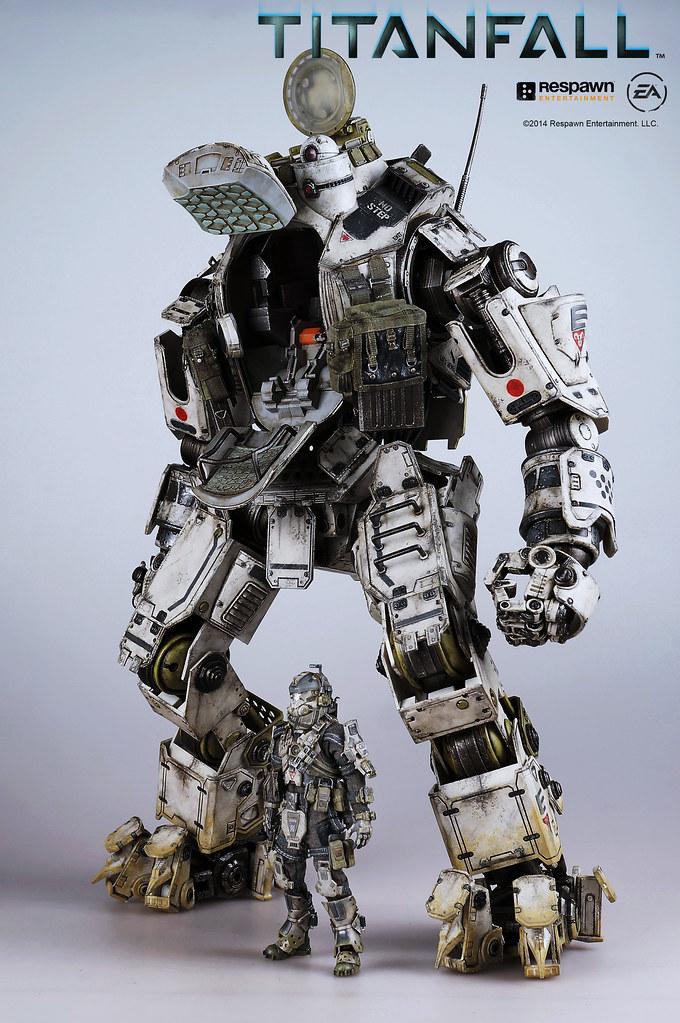 【今日開始預購!新增大量展示影片】threeZero 《神兵泰坦 TitanFall》1/12 Atlas 均衡型機甲